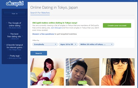 online dating site for japanese Want to meet great japanese singles in the us start japanese dating with elitesingles and be matched with people searching for long-term love.