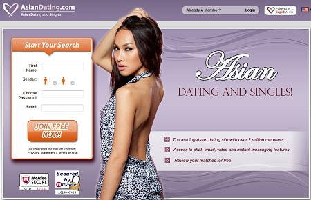 Asian internet dating sites
