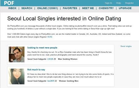 Plenty of fish dating website australia