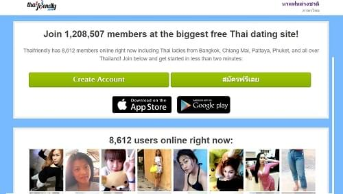 Thai friendly dating site