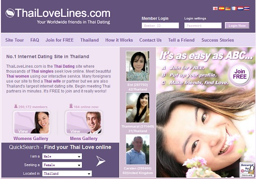 from Theo biggest dating site in thailand