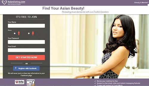 Asian dating online site