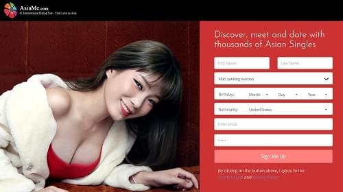 Asia Me dating site