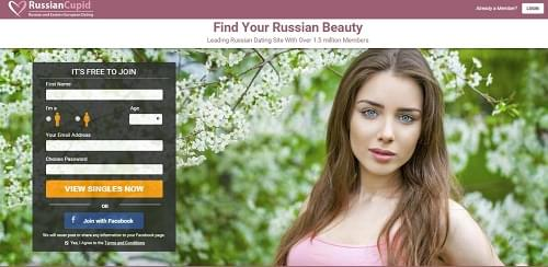 RussianCupid dating site