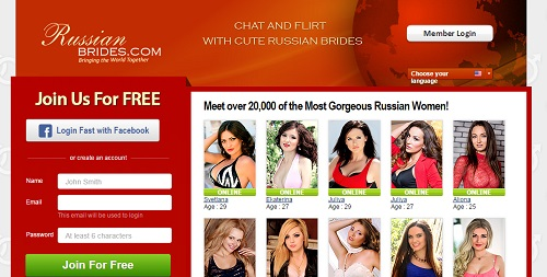 Russian bride dating service in the usa