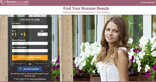 Russian cupid app