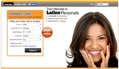 Latino dating service