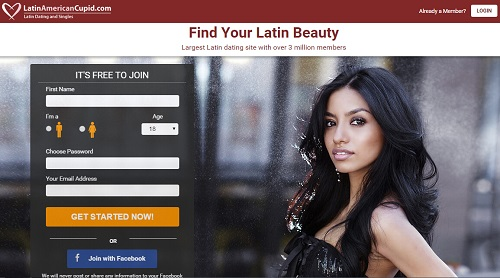 Latin american cupid dating site