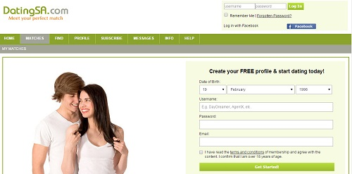 Free christian dating sites in south africa