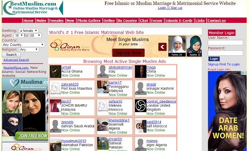 Muslim online dating site for free
