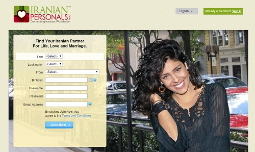 iranianpersonals dating site