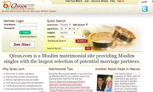 orviston muslim dating site Dating site row anger over dating  the site has proved so successful among muslim men that another site, this time for westerners, has opened for business .