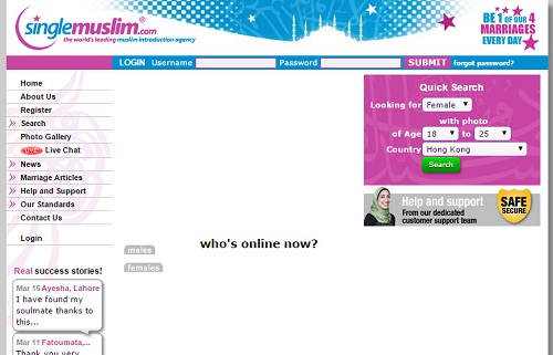 trenary muslim dating site Why millions of muslims are signing up for online dating where muslim online matchmaking often appeals to young people with a strong religious.