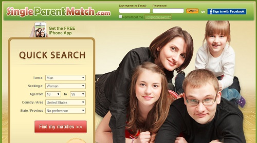 Free singles dating site for like-minded single parents