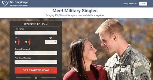 miltary dating