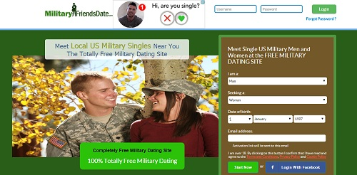 military friend date site