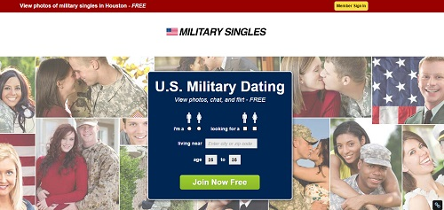 military dating site