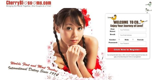 cherry blossoms dating site