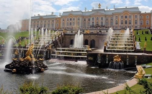 Peter of Palace in St. Petersburg's region